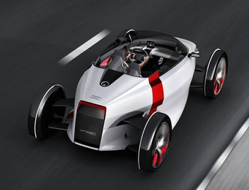 Audi - Audi Urban Concept versione spider on the road