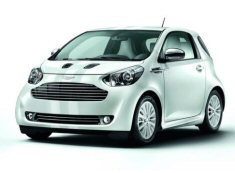 Aston Martin Cygnet Launch Edition White & Black
