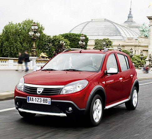 dacia sandero stepway gpl suv automobile. Black Bedroom Furniture Sets. Home Design Ideas