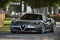 Alfa Romeo 4C in pista a Goodwood 2013