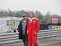 Chris Hemsworth nei panni del pilota James Hunt nel Film Rush