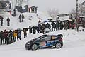 Elfyn Evans kept his cool in treacherous conditions, Monte Carlo Rally