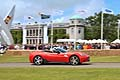 Ferrari in pista al Goodwood Festival of Speed