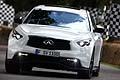 Auto sportiva Infiniti FX Vettel Edition al Goodwood Festival of Speed 2014