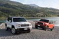 Jeep Renegade Trailhawk e Jeep Renegade Limited HP (white)