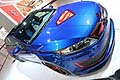 Kia Optima Hybrid superman at the Chicago Auto Show 2013