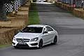 Mercedes-Benz CLA 45 AMG in pista a Goodwood Festival of Speed 2014