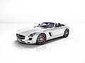 Mercedes-Benz SLS AMG GT Roadster supercar con cambio AMG Speedshift DCT 7-speed