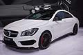 Mercedes CLA 45 AMG world premiere at the New York Auto Show 2013