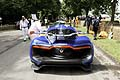 Renault Alpine A110-50 alettone posteriore al Goodwood Festival of Speed