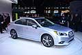 Subaru Legacy 2015 world premiere at the Chicago Auto Show 2014