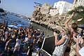 Trampolino da 27m Alex De Rose wildcard al Red Bull Cliff Diving 2017 a Polignano a Mare