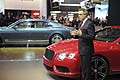 New Bentley Continental GT V8  con Wolfgang Durheimer CEO Bentley Motors