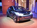 BMW i3 concept car gionata innagurale del BMW i - Born electric Tour di Roma