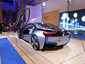 BMW i8 concept car presenta a Roma al BMW-i «Born electric Tour»