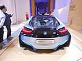 BMW i8 concept postriore. Partito il BMW i - Born electric Tour nella capitale Romana