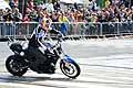 Chris Pfeiffer quattro volte campione del mondo di Stunt Riding all´evento Red Bull di Torino