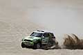 Dakar 2013 la Mini di Stephane Peterhansel vincitore della tappa e leader nellla classifica generale