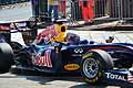 La Red Bull del pilota australiano Mark Webber
