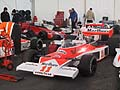 Monoposto McLaren M23 di James Hunt nel Film Rush regista Ron Howard