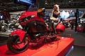 Moto Honda Gold Wing e hostess all´Eicma 2012
