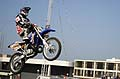 Motocross freestyle extreme sport