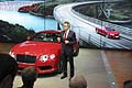 Al North American International Auto Show la New Bentley Continental GT V8 Reveal con il Ceo Wolfgang Durheimer
