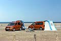 Volkswagen California è disponibile in due allestimenti, entry level Beach e top di gamma Ocean.