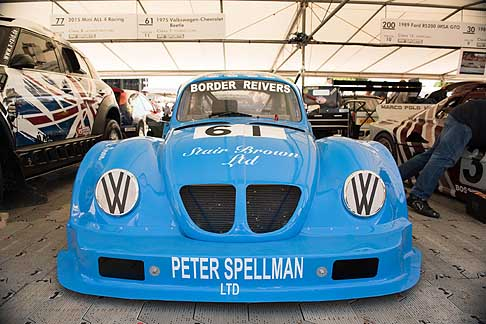Cronoscalata di auto storiche - 1975 Volkswagen Chevrolet Beetle at the Goodwood Festival of Speed 2015