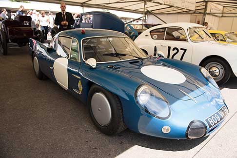 Cronoscalata di auto storiche - Alpine at the Goodwood Festival of Speed 2015