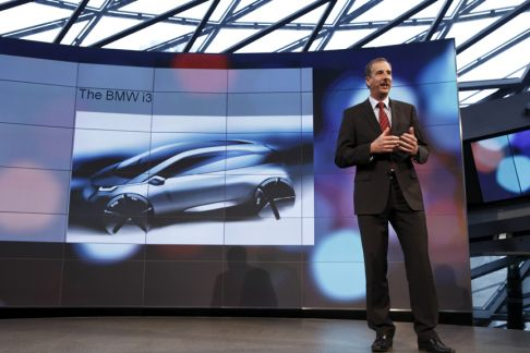BMW - Lancio del nuovo brand BMW i, Dr. Klaus Draeger, Member of the Board of Management of BMW AG