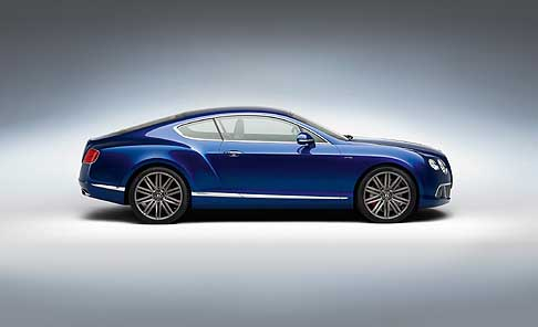 Bentley - Benley Continental GT Speed coupé fiancata laterale