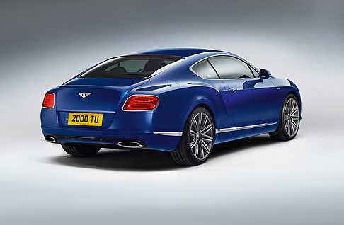 Bentley - Benley Continental GT Speed retrotreno vettura