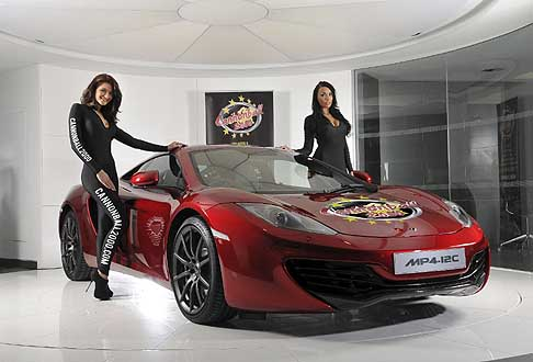 Ferrari - Cannonball 2000 le dream cars McLaren MPa-12C