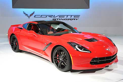 Chevrolet - Chevrolet Corvette Stingray at the Chicago Auto Show 2013