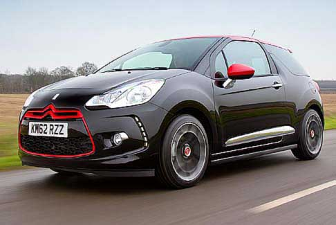 Citroen - New Citroen DS3 Red Special Edition nella colorazione speciale vernice perlata nera