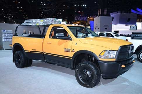 Dodge - Dodge Ram 3500 by Mopar at the Chicago Auto Show 2014