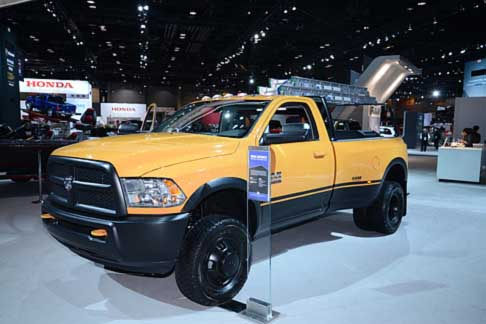 Dodge - Veicolo Dodge Ram 3500 pick-up al Chicago Autoshow 2014
