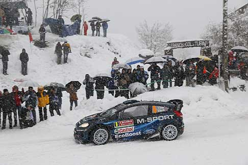 Rally WCR 2014 - Elfyn Evans kept his cool in treacherous conditions, Monte Carlo Rally
