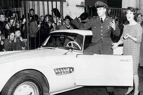 Star cars - Elvis Presley, Ursula Andress e la splendida BMW 507 del 1958