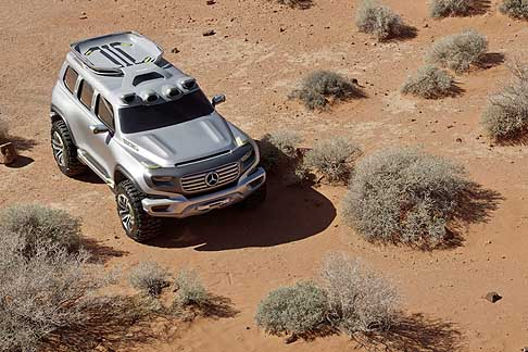 Mercedes - Mercedes Ener G-Force off road for tomorrow, immagini in digitale