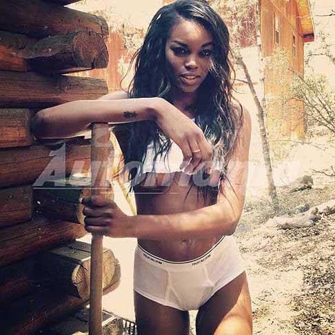 Eugena Washington - Eugena Washington sexy model Playboy - foto by staff Playboy