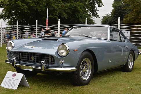 Ferrari - Ferrari 250 GT Coupe speciale Pininfarina, Photo Max Earey a Goodwood 2017