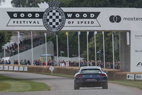 Ferrari - Ferrari GTC4 Lusso nel circuito di Goodwood Festival of Speed
