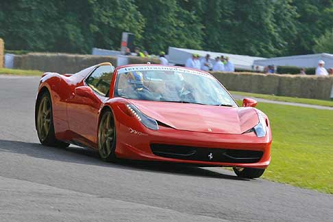 Ferrari - Ferrari aperta at the Goodwood Festival of Speed 2012