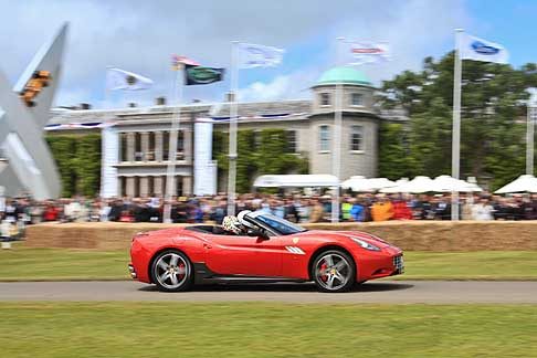 Ferrari - Ferrari in pista al Goodwood Festival of Speed