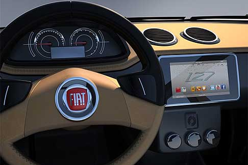 Fiat - Fiat 127 concept car interni
