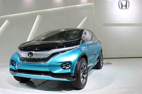 Honda - Honda Vision XS 1 Concept ac at the New Delhi Auto Expo in India