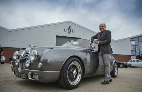 Jaguar - Jaguar Mark 2 by Callum Unveiled Ph Dick Barnatt