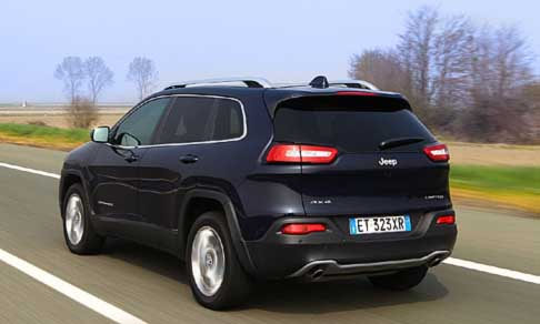 Jeep - Jeep Cherokee Limited Model Year 2014 posteriore vettura